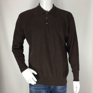 Neiman Marcus Merino Wool Sweater Men's Size Large